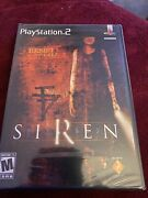 Siren - Playstation 2 Ps2 Sony Mature Horror Game 2003 Nib Factory Sealed New