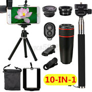 All In 1 Phone Camera Lens Top Travel Kit Accessories For Mobile Smart Phone Usa