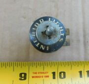 Dashboard Panel Interior Light Switch And Bezel For 1953 Ford Cars Maybe Trucks