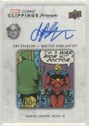 2020 Upper Deck Marvel Ages Comic Clippings Autos 7/10 Js-mgn1 Auto F6d