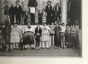 Antique Photo Ringling Circus - Side Show