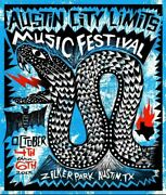 Austin City Limits Festival - 2013 Carlos Hernandez Acl Poster And039d Print Weekend