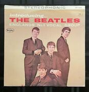 Introducing The Beatles Lp, Professionally Cleaned With Vpi 16.5 Machine