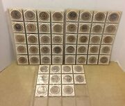Lot Of 51 Wooden Nickels State Seal Set 50 Different States + Dist Of Columbia