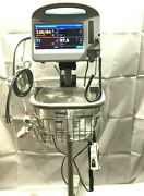 Welch Allyn Connex 6000 Vsm Vital Signs Monitor Nibp Bp Spo2 Temperature Stand