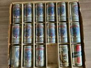 17 Different Sterling Kentucky Derby Winning Horses Beer Can Collection Display