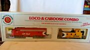Ho Scale Bachmann F9 Diesel Locomotive Cp Rail 1412 And Caboose 438861 Bnos