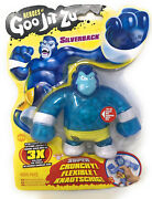 New Heroes Of Goo Jit Zu Silverback 5and039and039 Stretchy Figure Series 1