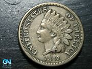 1860 Indian Head Cent Penny -- Make Us An Offer K4546