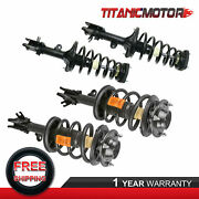 4x Front And Rear Quick Struts Assembly For 2005-2009 Kia Sportage Hyundai Tucson