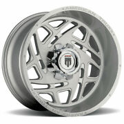 24x14 American Truxx At1904 Cosmos 8x180 -76 Brushed Texture Wheels Rims Set4