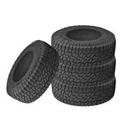 4 X Falken Wild Peak A/t3w Lt31x10.50r15 C 109s All Terrain Any Weather Tires