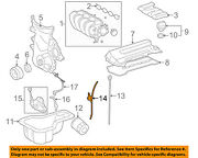 Toyota Oem 03-08 Corolla Engine Parts-guide Tube 1145222031
