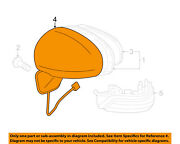 Toyota Oem 10-11 Prius Door Side Rear View Mirror-cover Right 8791547020e0