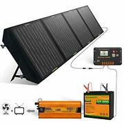 Eco-worthy Portable Power Station 360wh Backup Lithium Battery 110v/600w Pure...