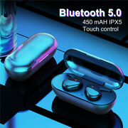 Tws Bluetooth Wireless Earphone Surround Sound Earbuds For Iphone Samsung Huawei