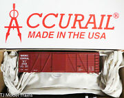 Accurail Ho 11691 Rd 2908 Quebec Central 36' Fowler Wood Boxcar Plastic