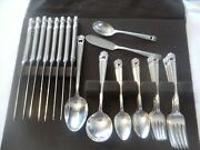 52 Pc Vintage 1847 Rogers Bros Eternally Yours 8 Place Set Silverplate Flatware