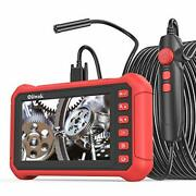 Oiiwak Industrial Endoscope 5.0 Mp Borescope Inspection Camera With 7 Ips Scree