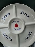 Southwest Airlines Dip Into It A Servants Heart - Chip Tray Bowl 14.5
