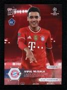 2020-21 Topps Now Uefa Champions League Red /99 Jamal Musiala 045 Rookie