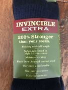 3 Pairs Of Menandrsquos Orvis Invincible Extra 200 Stronger Socks - Black Size Large