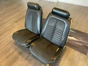 1969-1972 Gm A-body Gto Chevelle Interior Bucket Seats Headrests Frames Complete