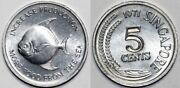 Singapore 50 Pieces Uncirculated 1971 Fao 5 Cents Km8