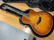 Stunning Taylor T5c-12 Custom 12-string Hybrid Acoustic And Electric Guitar W/hsc