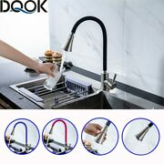 Silica Gel Nose Any Direction Rotating Kitchen Faucet Cold And Hot Mixer Handle