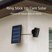 Ring Stick Up Cam Solar Hd Security Camera With Two-way Talk Works With Alexa -