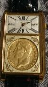 Napoleon Coronation Gold Coin Watch 200th Anniversary Limited Edition K21.6 Gold