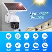 Camera Home Security Wireless Cctv Wifi Ip Outdoor Hd 3mp Solar Powered Energy