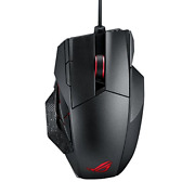 Asus Rog Spatha Rechargeable Wireless Mmo Gaming Mouse With 12 Programmable And