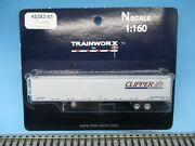 Trainworx N Scale 53' Reefer Trailer - Clipper W/thermo-king Unit - New On Card