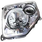 Headlight For 2008 2009 2010 2011 2012 Jeep Liberty Right With Bulb Capa