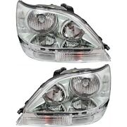 8111048130, 8115048130 New Driver And Passenger Side Hid/xenon Lh Rh For Rx300