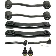 Control Arm Kit For 99-2004 Jeep Grand Cherokee Tie Rod End Set Of 8 Lh And Rh