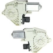 Window Motor For 2009-2015 Dodge Journey Set Of 2 Front Left And Right