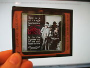 Miracle Man 1919 Paramount Lon Chaney Movie Theater Glass Slide Frank Packard