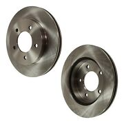 Disc Brake Rotor For 1997-2003 Ford F-150 Front Solid 2-wheel Set 4wd