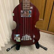 Gibson Eb1 Epiphone By Viola Type Electric Bass Guitar With Zenn Gig Bag