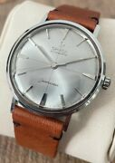 Omega Seamaster Crosshair Rare Vintage Menand039s Watch 1959 Serviced + Warranty
