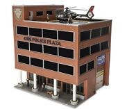 ✅menards One Police Plaza Building Accessory Operating Helicopter O Gauge Scale