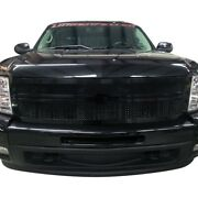 For Chevy Silverado 2500 Hd 11-14 Status Grilles 1-pc Red Mesh Main Grille