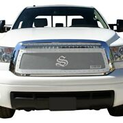 For Toyota Tundra 10-13 Status Grilles 1-pc Gloss Black Mesh Main Grille