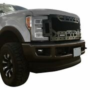 For Ford F-250 Super Duty 17-19 Main Grille 1-pc Sema Edition Charcoal Metallic