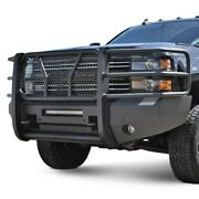 For Chevy Silverado 3500 Hd 15-19 Bumper Elevation Series Full Width Black Front