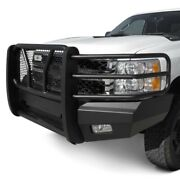For Chevy Silverado 2500 Hd 11-14 Bumper Elevation Series Full Width Black Front