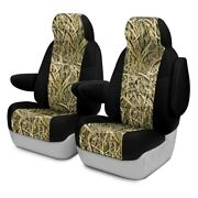 For Porsche 928 83-86 Seat Covers Mossy Oak Camo 1st Row Shadow Grass Blades